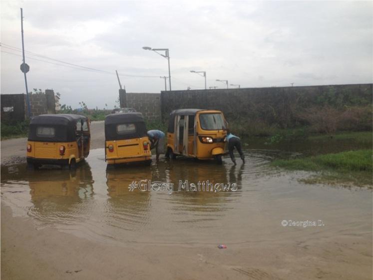 Car wash Lagos Style