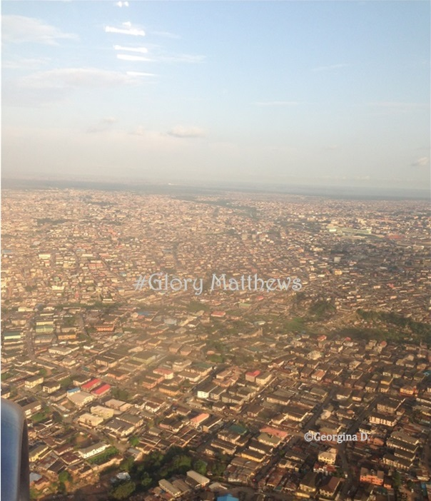 Lagos from the Sky