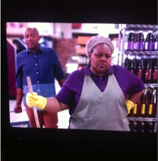 """""""Responsible shop cleaner"""" - culled from MasterPass from MasterCard SouthAfrican Advert"""