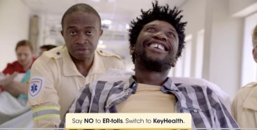 """""""Smart patient"""" - culled from KeyHealth Medical Scheme South African advert"""