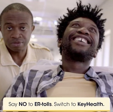"""Smart patient"" - culled from KeyHealth Medical Scheme South African advert"