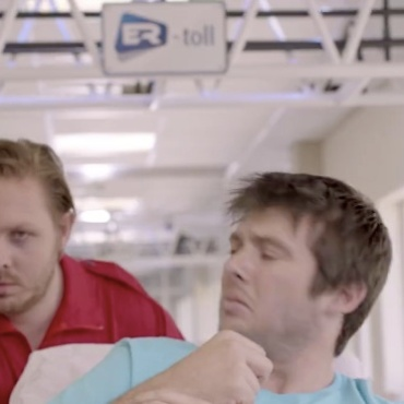 """Dumb patient"" - culled from Keyhealth Medical Scheme South African advert"