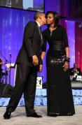 U.S. President Barack Obama and first lady Michelle Obama at the Congressional Black Caucus Foundation on September 24, 2011 in Washington, DC. (Photo by Chris Kleponis-Pool/Getty Images)
