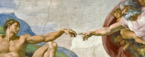 Ceiling of the Sistine Chapel - Michelangelo